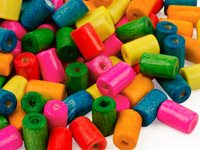 Mixed-Colour-Wood-Beads-Tube-5x8mm-Pa...