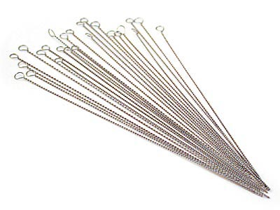 Twisted Wire Needles Medium 0.34mm Pack of 25