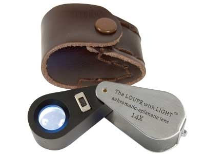 Loupe With Led Light X14           Magnification