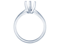 18ct-White-Round-6-Claw-Ring-Mount-50...