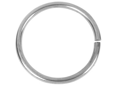 Sterling Silver Solid Plain Round  Bangle 63mm Inside Diameter X 6mm Thick