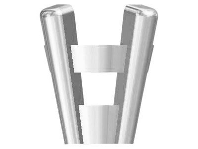 Platinum 4 Claw Double Gallery     Collet 4.5mm Medium