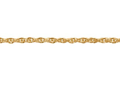 9ct Yellow Gold 1.8mm Loose Rope   Chain