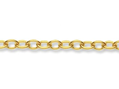 9ct Yellow Gold 1.5mm Loose Trace  Chain