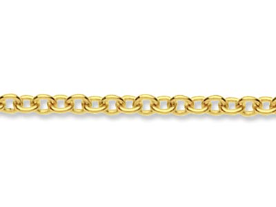 9ct Yellow Gold 1.6mm Loose Trace  Chain