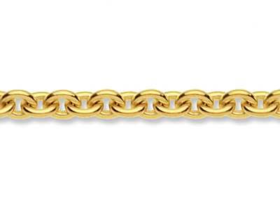 9ct Yellow Gold 4.0mm Loose Cable  Chain