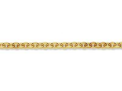 9ct Yellow Gold 2.5mm Loose Cable  Chain