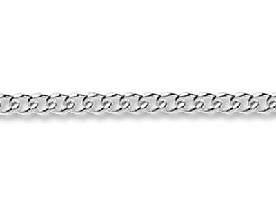 Sterling Silver Plain Curb 3.5mm