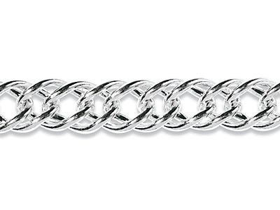 Sterling Silver 13mm French Curb  Loose
