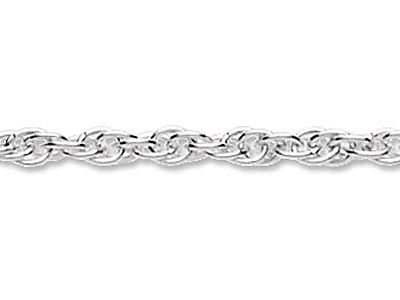 Sterling Silver 14 Rope, Loose,    Prince Of Wales