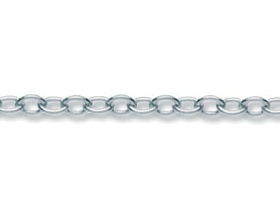 Sterling Silver 14/20 Plain Trace, Loose