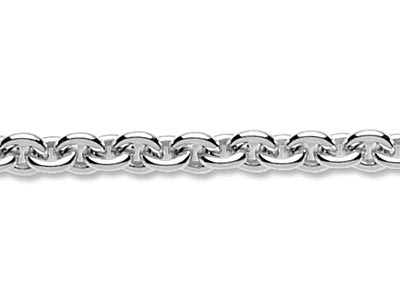 Sterling Silver 4.0mm Loose Cable  Chain