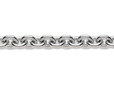 Sterling Silver 5.9mm Loose Cable  Chain