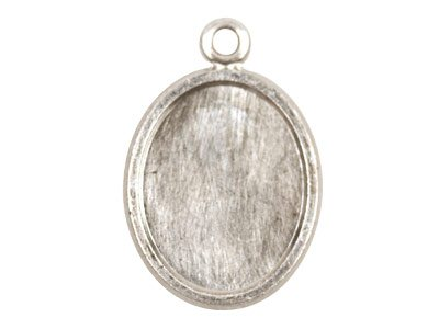 Fine Silver Pendant Cpm79 1.50mm   Fully Annealed Blank Oval 16mm X   20mm