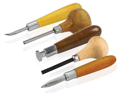 Jewellers Complete Stone Setting   Tools Set Of Pushers And           Burnishers, Set Of 5