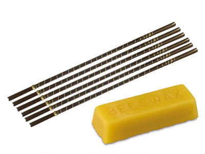 Super Pike Swiss Jewellers Saw    Blades Expert Set Of 72 With 1oz   Beeswax Block