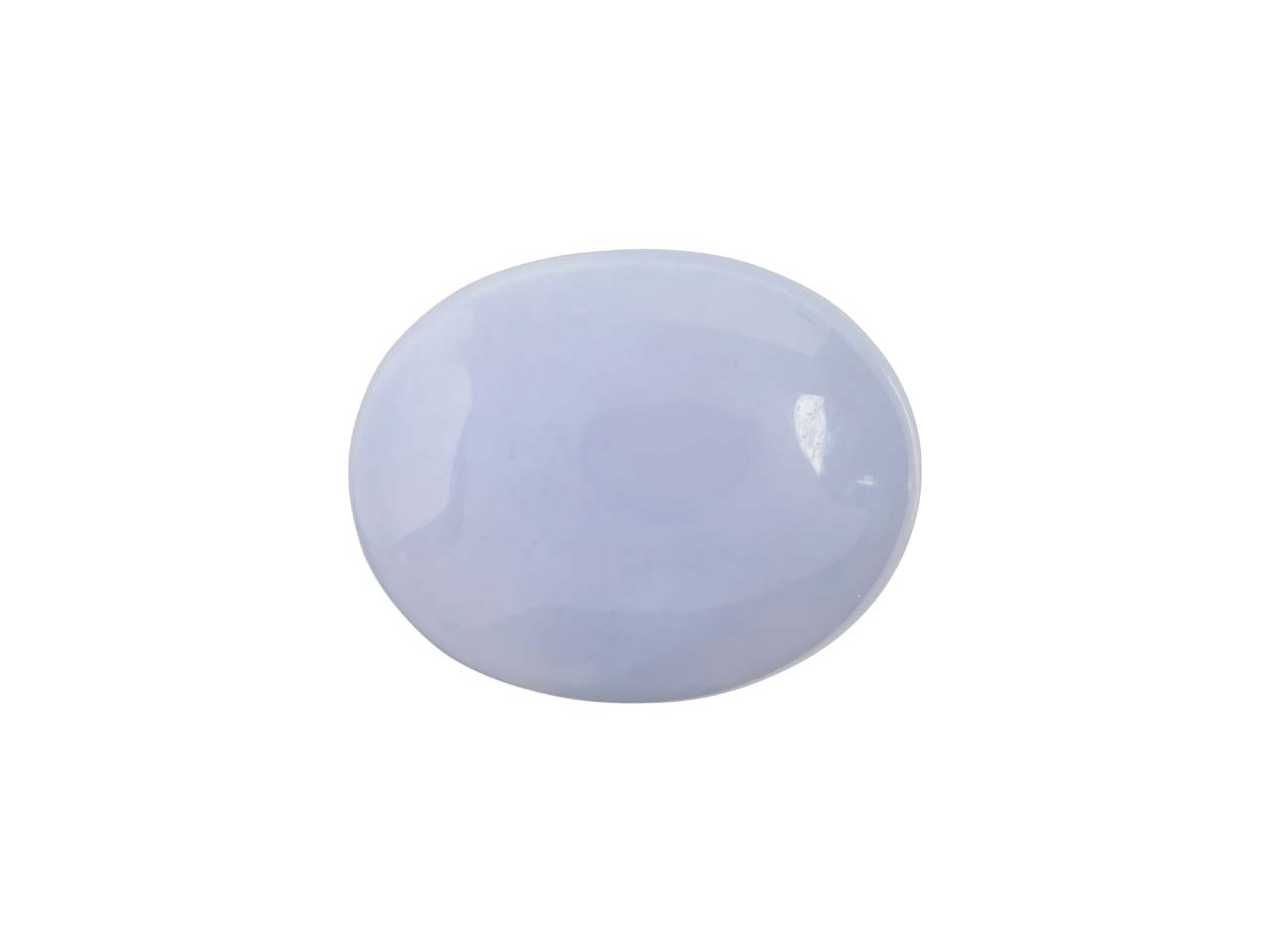 Blue Lace Agate, Oval Cabochon     10x8mm