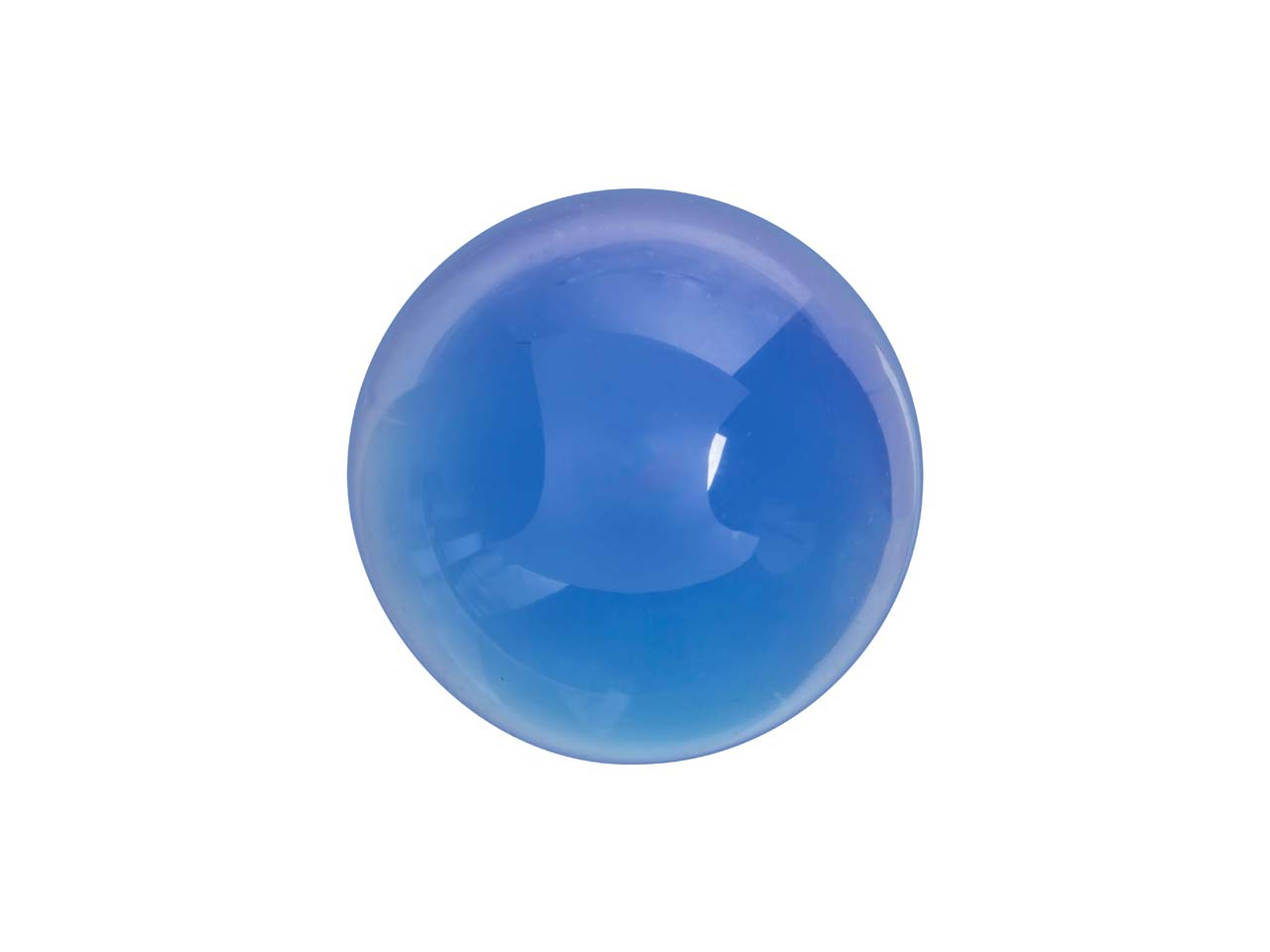 Blue Agate Round Cabochon 10mm