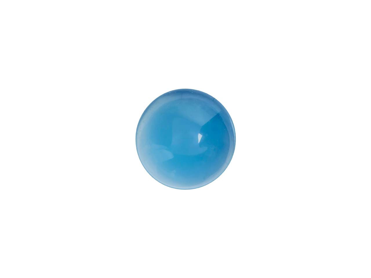 Blue Agate Round Cabochon 6mm