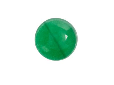 Green Agate, Round Cabochon 8mm
