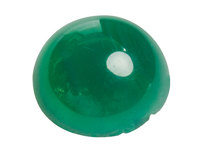 Green Agate, Round Cabochon 10mm
