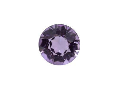 Amethyst Round Medium/dark 3.0mm