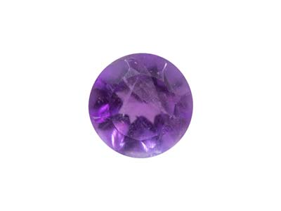 Amethyst Round Medium/dark 4.0mm