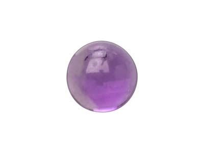 Amethyst Round Cabochon, 3mm, Clarity Of Grade 1st
