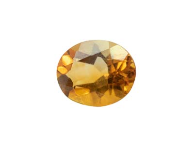 Citrine, Oval, 9x7mm