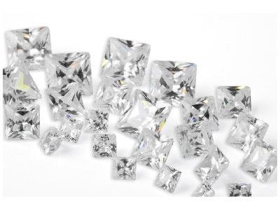 White-Cubic-Zirconia,-Square-Mixed-Si...