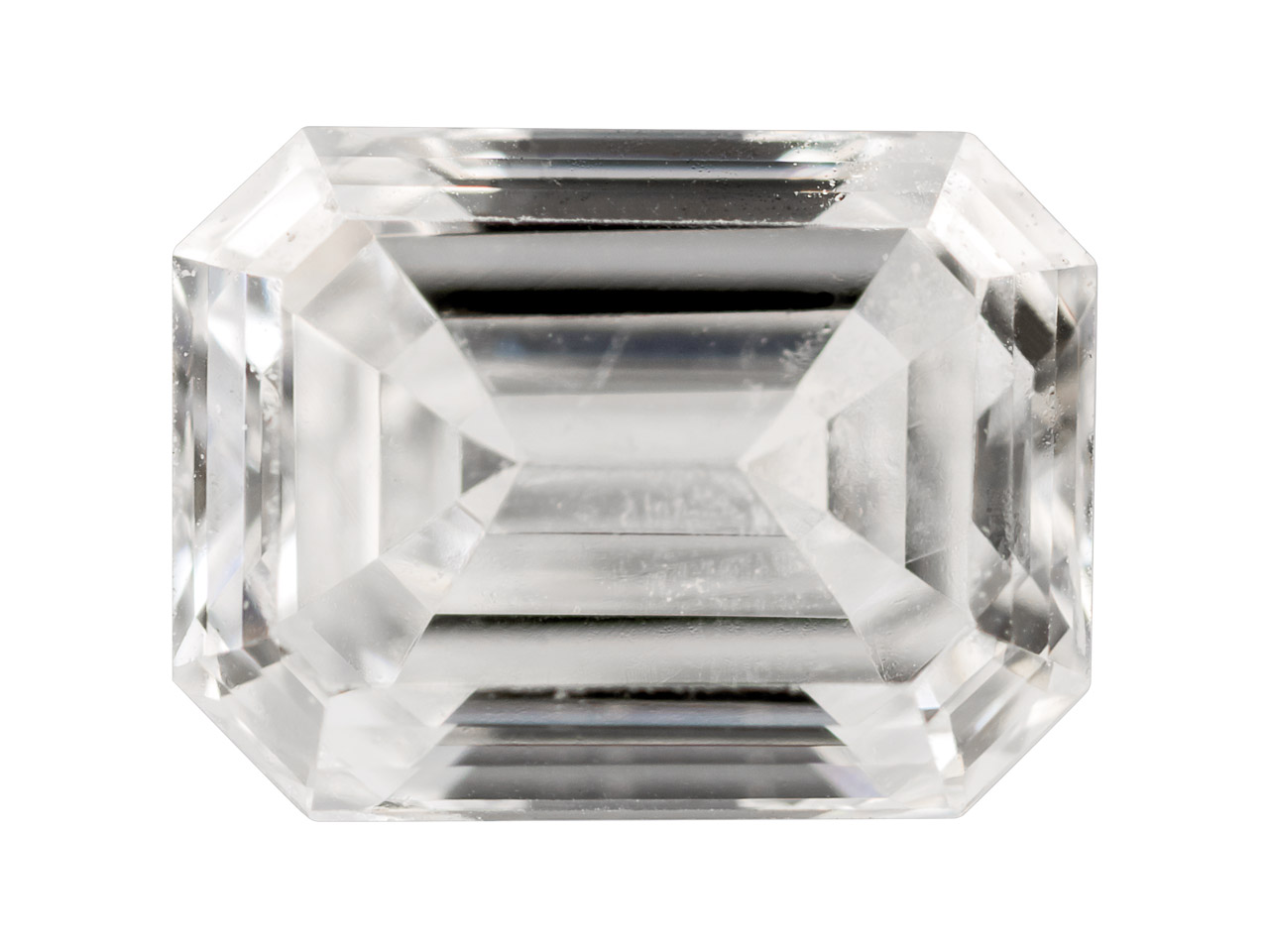 Diamond, Emerald Cut, H/si,        15pt/4x3mm