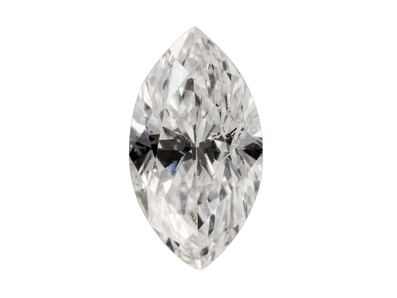 Diamond, Marquise, H/si,           8pt/3x1.5mm