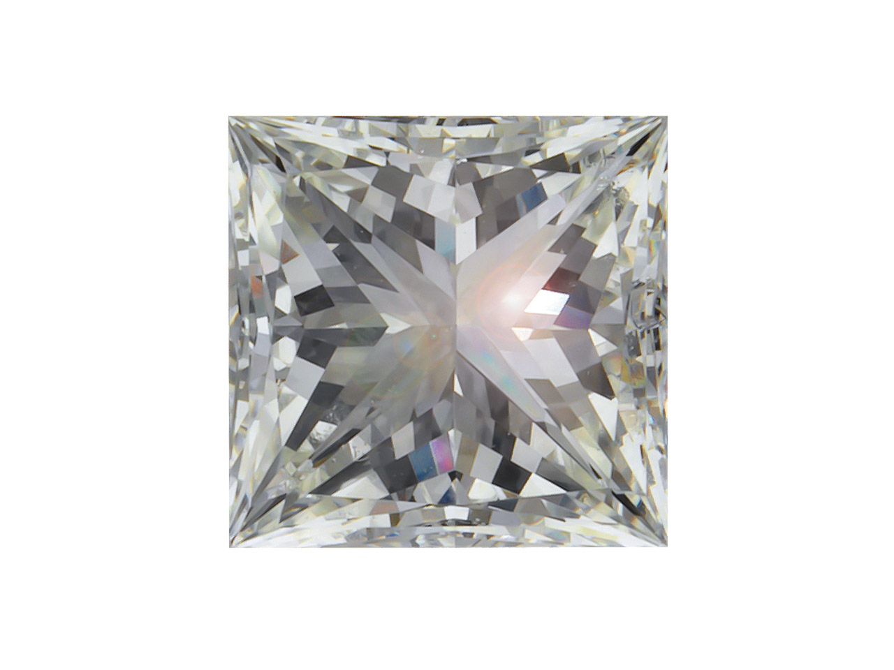 Diamond, Princess, H/si, 7pt/2.2mm