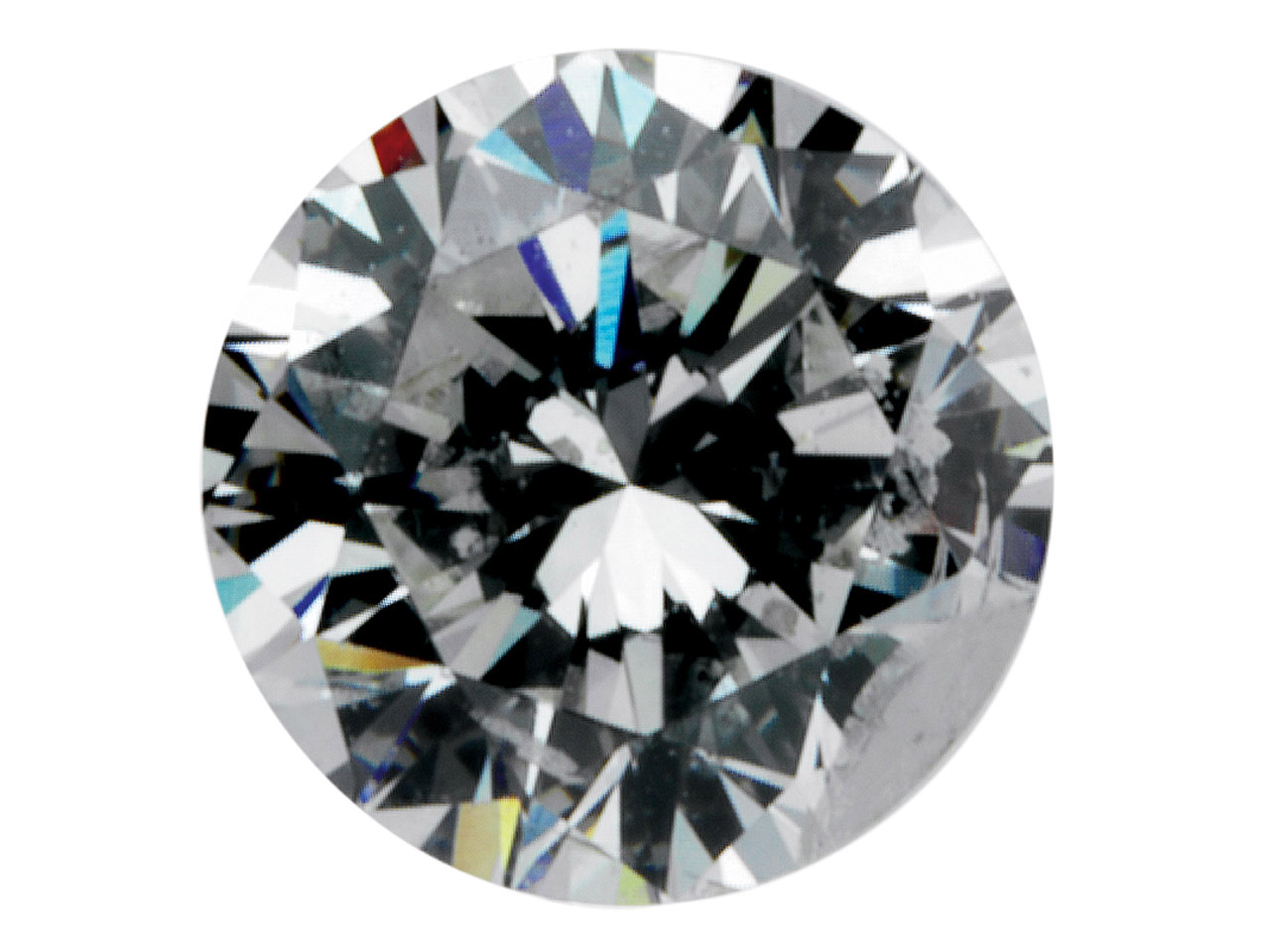 Diamond, Round, H/si, 7pt/2.5mm