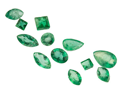 Emerald,-Mixed-Shapes,-Pack-of-12,