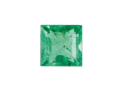 Emerald, Square, 2.5x2.5mm