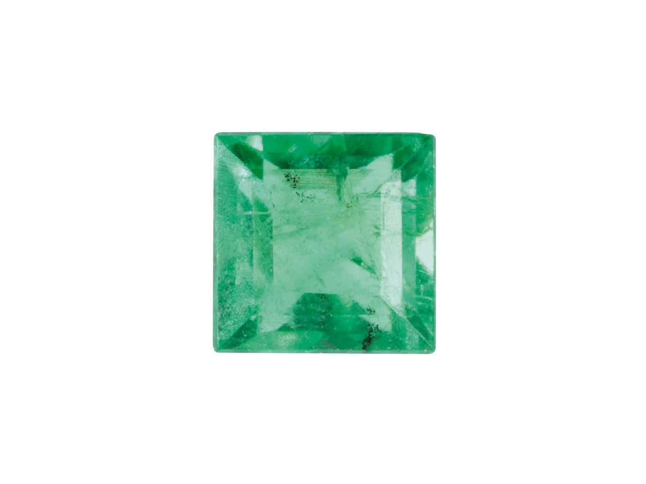 Emerald, Square, 3x3mm