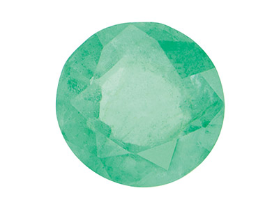 10% OFF Emerald, 2mm Round