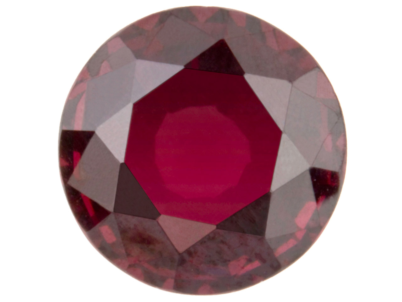 Garnet, Round, 1.5 To 3mm Mixed    Sizes, Pack of 50