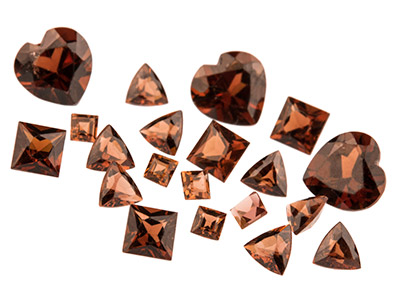 Garnet, Mixed Shapes, Pack of 20
