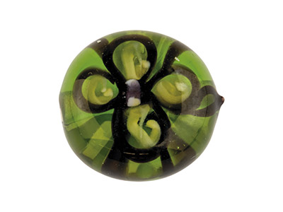 Green-Flower-European-Lampwork-----Be...