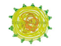Green-Flat-Disc-With-Swirls-And----Sp...