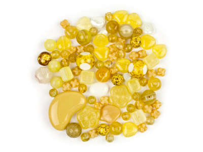 Preciosa Czech Desert Sand Glass Bead Mix 50g