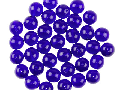 Preciosa 4mm Czech Pressed Glass Beads Cobalt Blue Pack Of 100