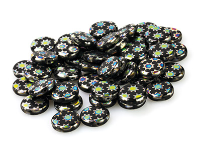 Black-Glass-Round-Beads,-Vacuum----Pl...
