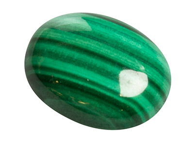 Malachite, Oval Cabochon 10x8mm