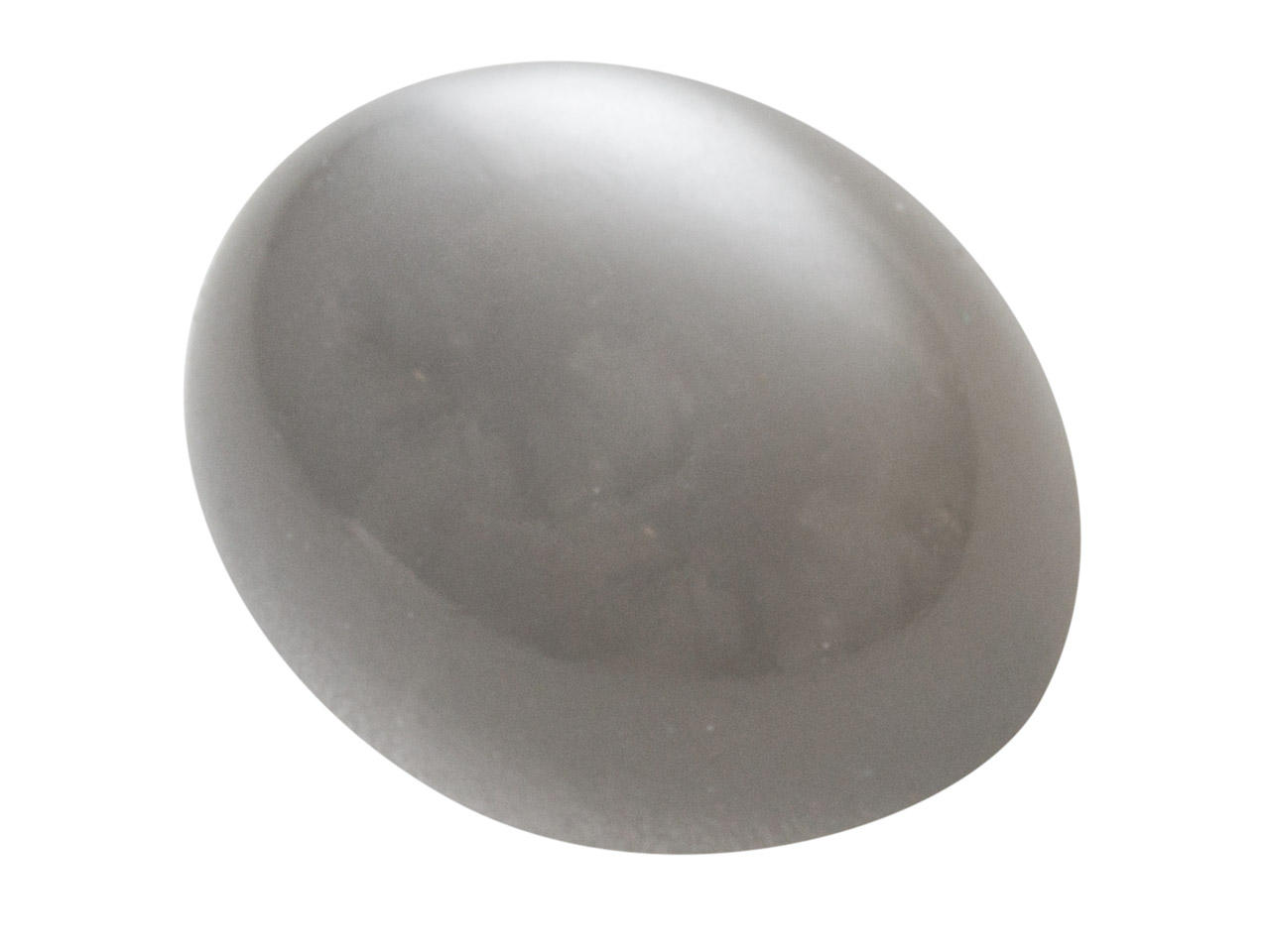 Grey Moonstone, Oval Cabochon      10x8mm