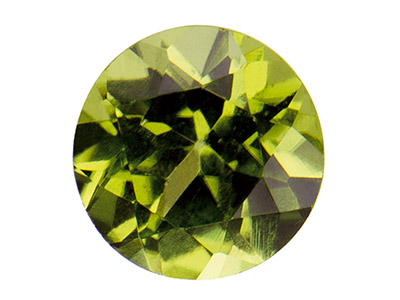 10% OFF Peridot, 4mm Round
