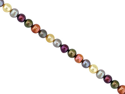 Cultured Pearls Fresh Water 68mm Multicolour Potato Shape 1845cm