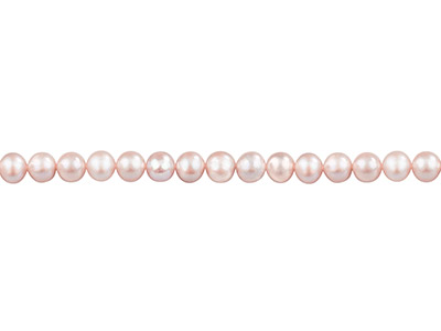 Cultured Pearls Fresh Water,       6-6.5mm, Lavenderpink, Potato     Round, 1640cm